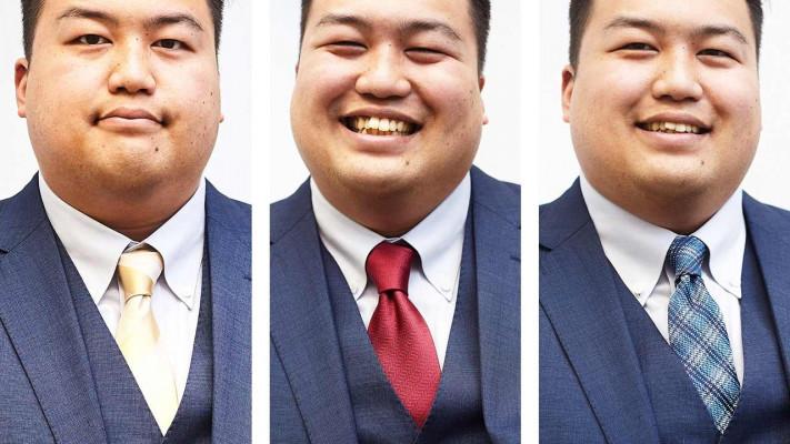 【ネクタイの組み合わせ方・結び方編】ぽっちゃり男子がサカゼンで「スーツの着こなし」を学んできました!