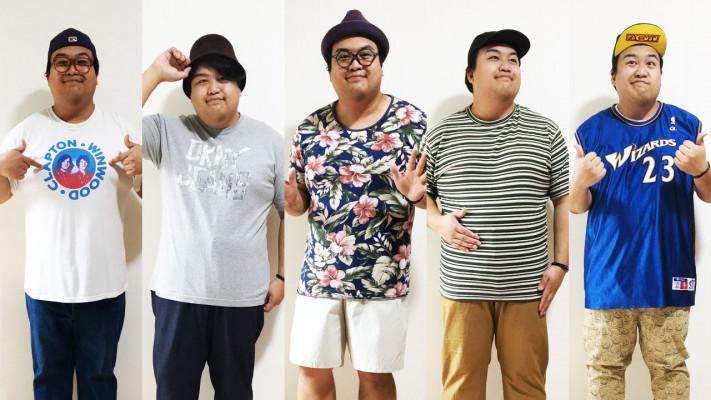 春夏・ぽっちゃり男子おしゃれコーデ6選!Tシャツ編