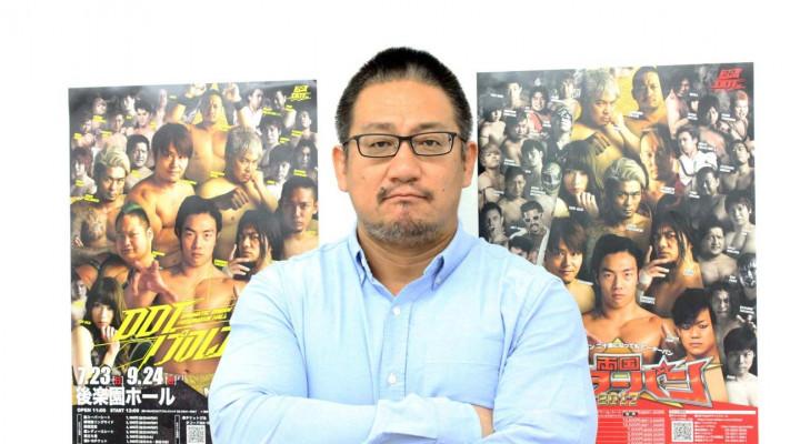 【DDTプロレス・高木三四郎さんインタビュー】<前編>強くて賢いポジビスト!