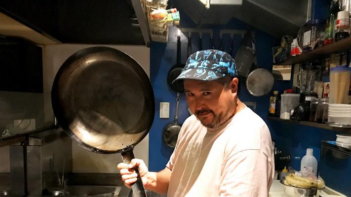 デカメンのデカメンによるデカメンのためのヘルシー料理! 8皿目「サザンオーシャン・イカトゥイユ」