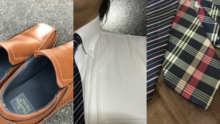 おデブビジネスマンの定番ファッションアイテム「革靴」「ワイシャツ」「ネクタイ」のサイズ選びのコツ