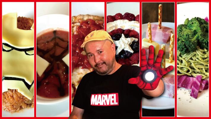 アイアンマンもスパイダーマンも! 『アベンジャーズ』のキャラ飯を作ってみた【ぽっちゃりケンケンシリーズ】