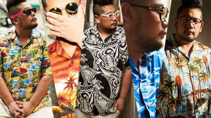 派手な「アロハシャツ」はぽっちゃりメンズに似合う!サカゼンECセールで58%オフの3,980円!