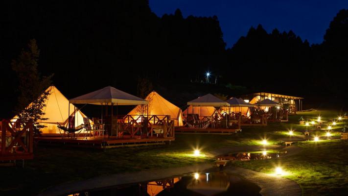 ゆったり過ごせるワンランク上のお手軽・贅沢キャンプ「グランピング」関東近郊おすすめスポット