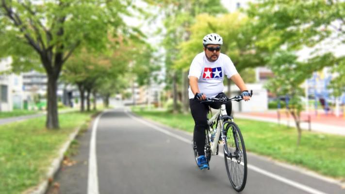 100kgのぽっちゃりメンズが「30kmのサイクリング」にチャレンジしてみた!