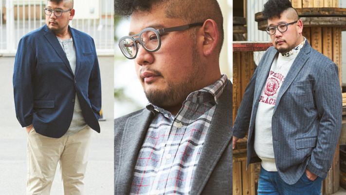 太めぽっちゃりメンズに「ニットジャケット」をおすすめるワケ【春の着こなし2019】