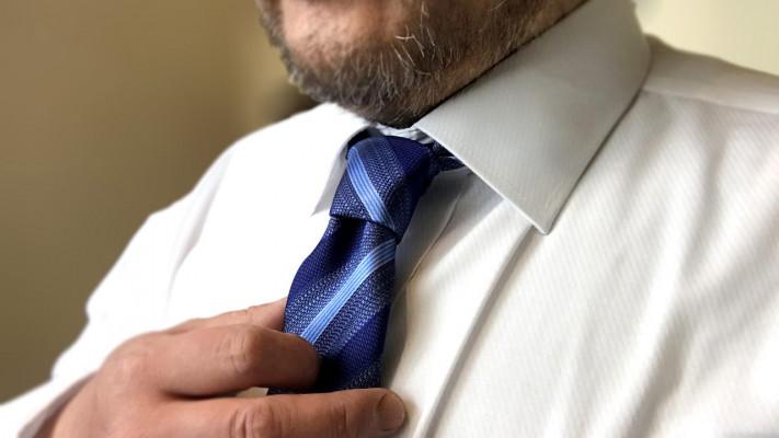 首が太い人用の【長いネクタイ】がある!? サカゼン通販サイトで感動の長ネクタイをゲット!