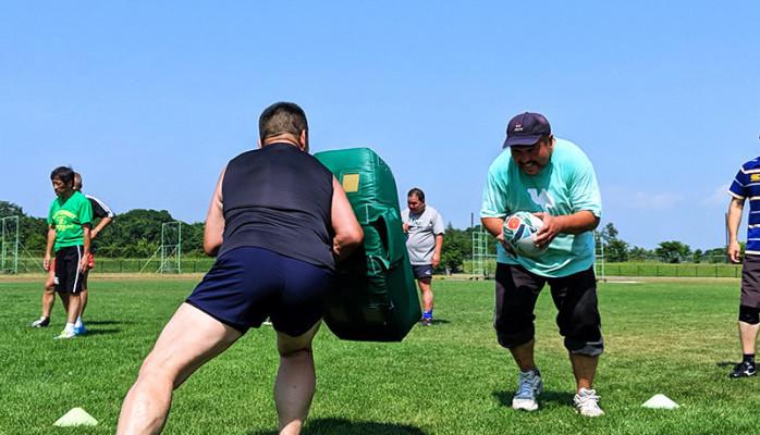 ラグビーワールドカップ開催!100kgのぽっちゃりメンズが「ラグビー」にチャレンジしてみた!